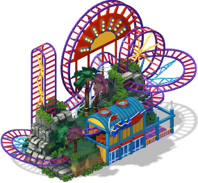 image royalty free Roller coaster clipart ferris wheel. Image ride level sw