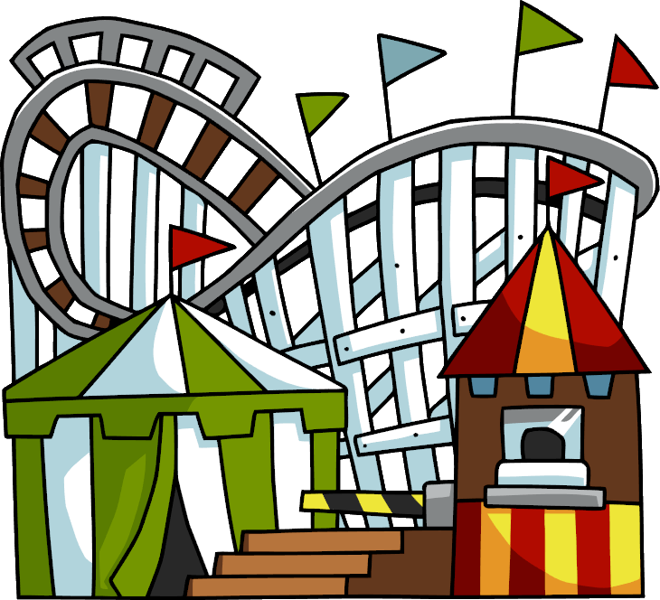 clip freeuse stock Rollercoaster scribblenauts wiki fandom. Roller coaster clipart ferris wheel