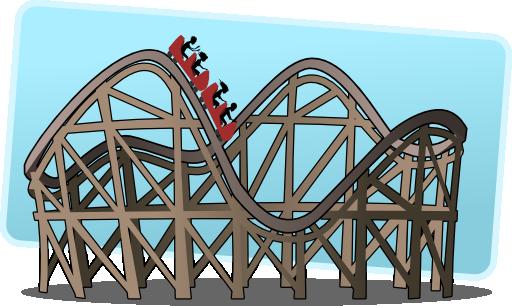 jpg I royalty free public. Roller coaster clipart kids.