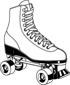 picture stock Lessons from the Roller Rink