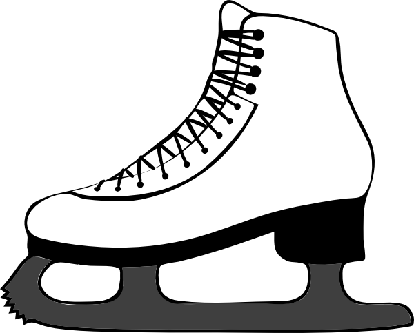 clipart free Roller skate silhouette at. Skateboarding drawing animation