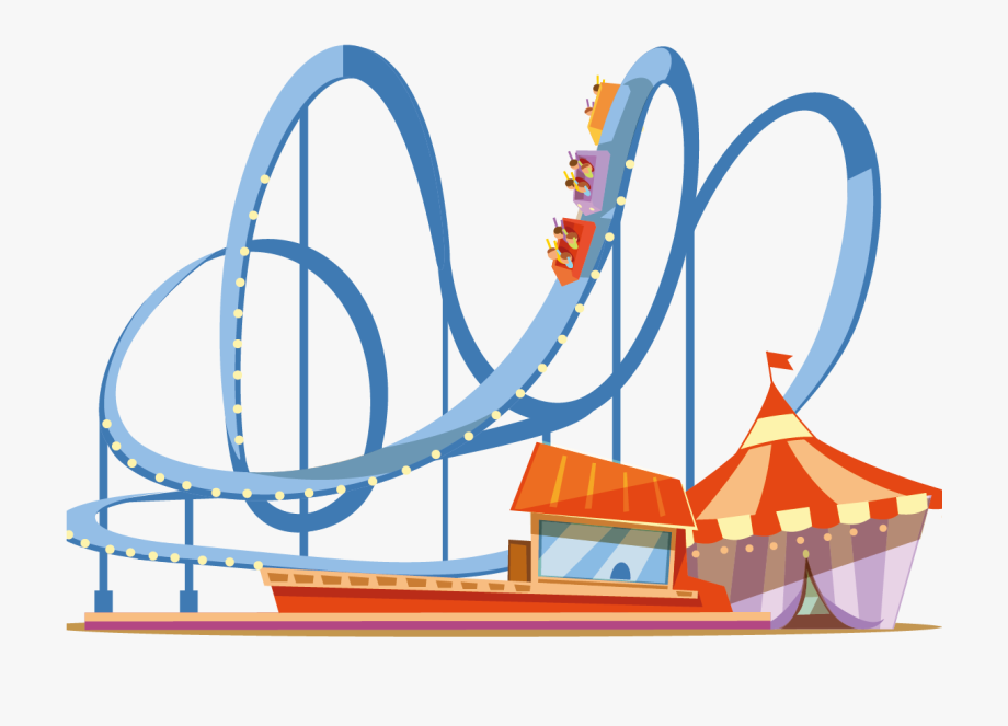 png freeuse download Svg black and white. Rollercoaster clipart.
