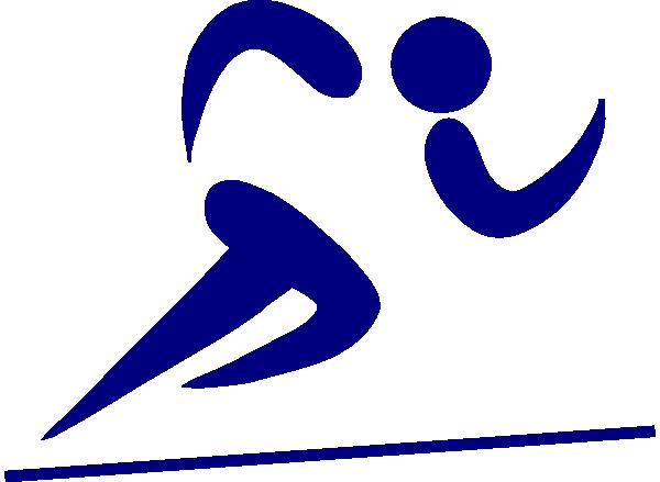 banner library stock Blue Runner Clip Art at Clker