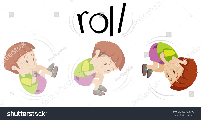 clip art transparent download Clip art of boy. Rolling clipart.