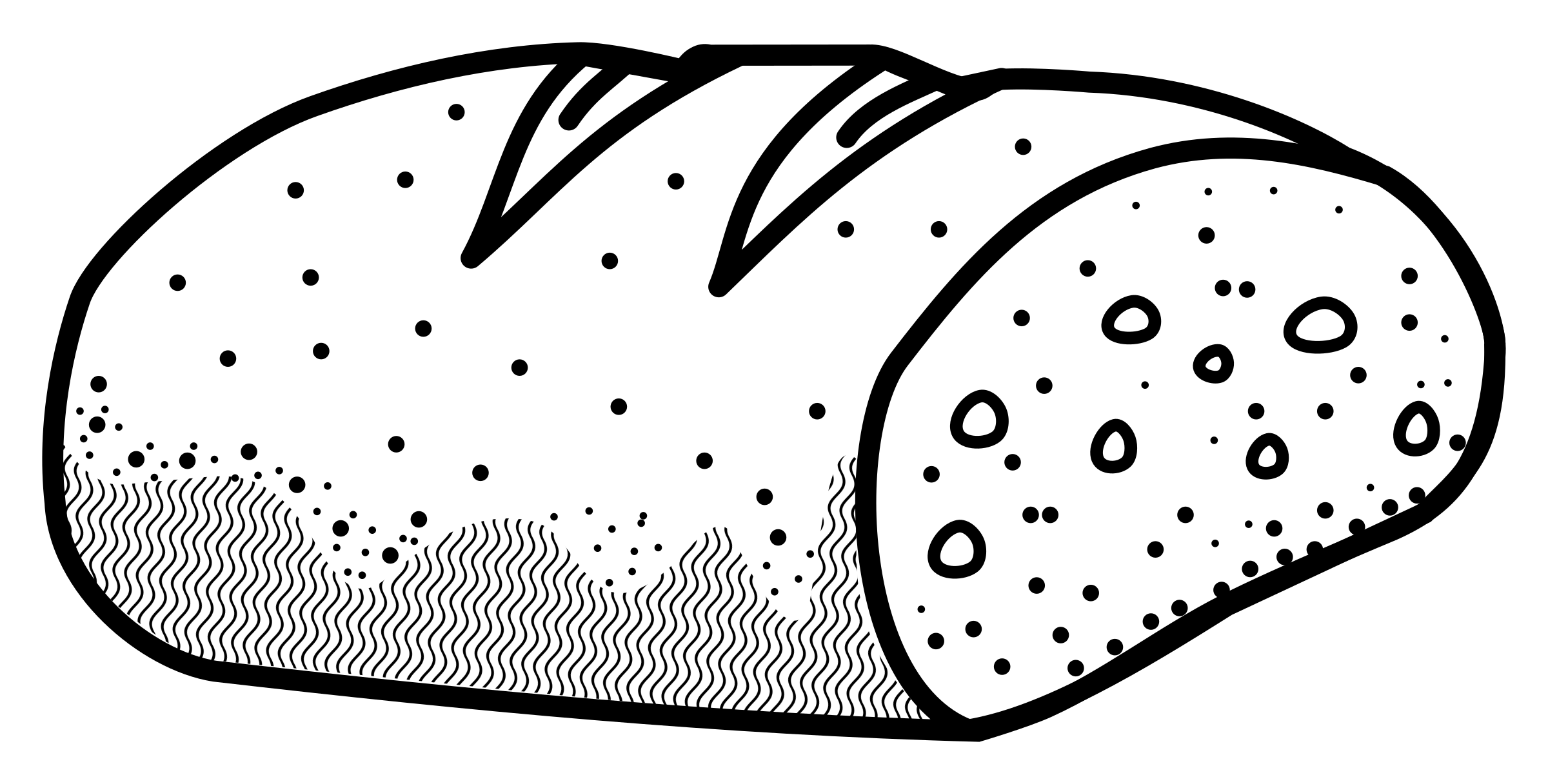 png freeuse library Log black and white clipart. Bread wallpaper free on