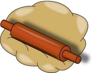 clip royalty free library Rolling Pin Clip Art at Clker