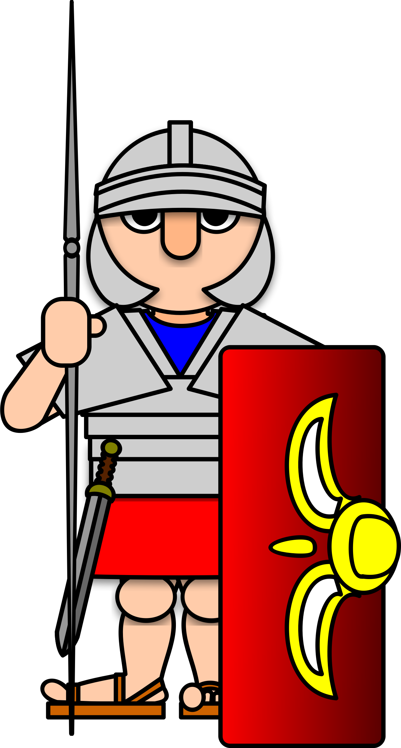 graphic freeuse library Roman army clipart.  collection of high