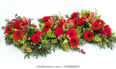 clip library library Flower arrangement for i. Roman vector funeral wreath