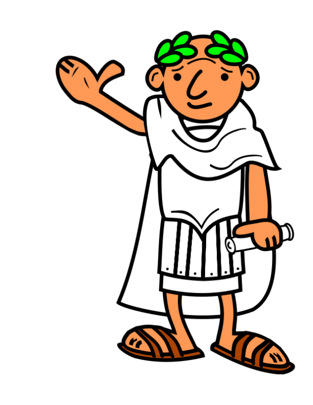graphic stock Roman Emperor Clipart free