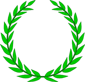 image royalty free library Rome leaves . Laurel clipart olympic.