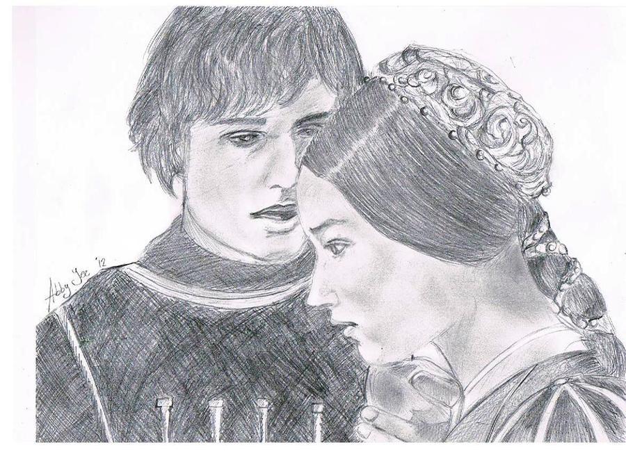 Ромео и джульетта картинки нарисованные детьми