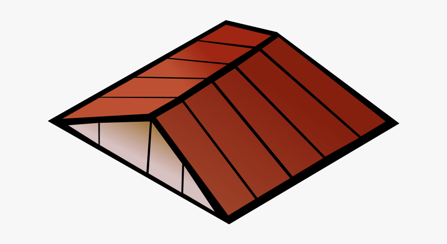 jpg library library Roof clipart. Free of the house.