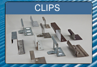 vector free stock Roofing clip. Metal materials standing seam.