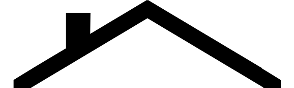 download Roof outline clip art. Roofing clipart.