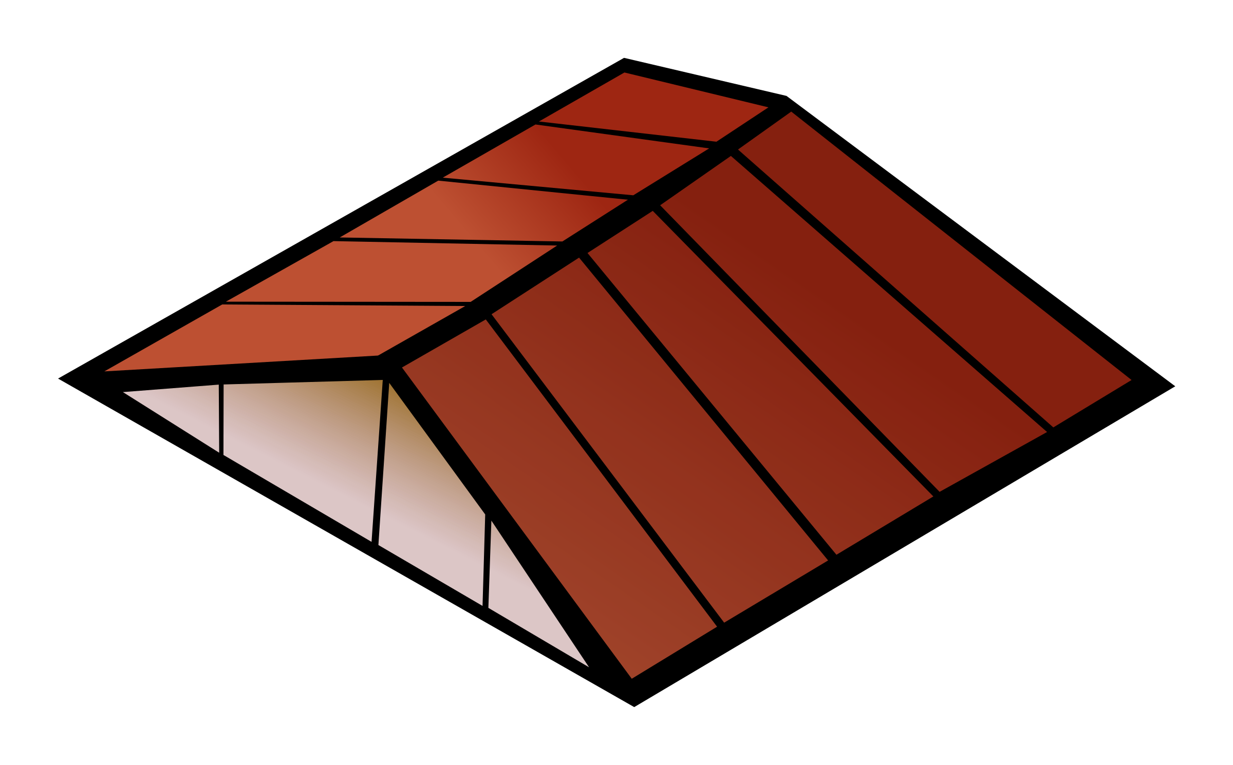 free Roofing clip. Rooftop clipart house roof.