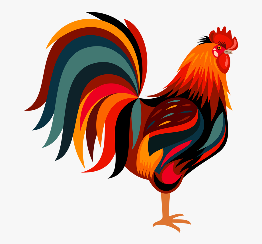 jpg freeuse stock Rooster clipart. Art png free .