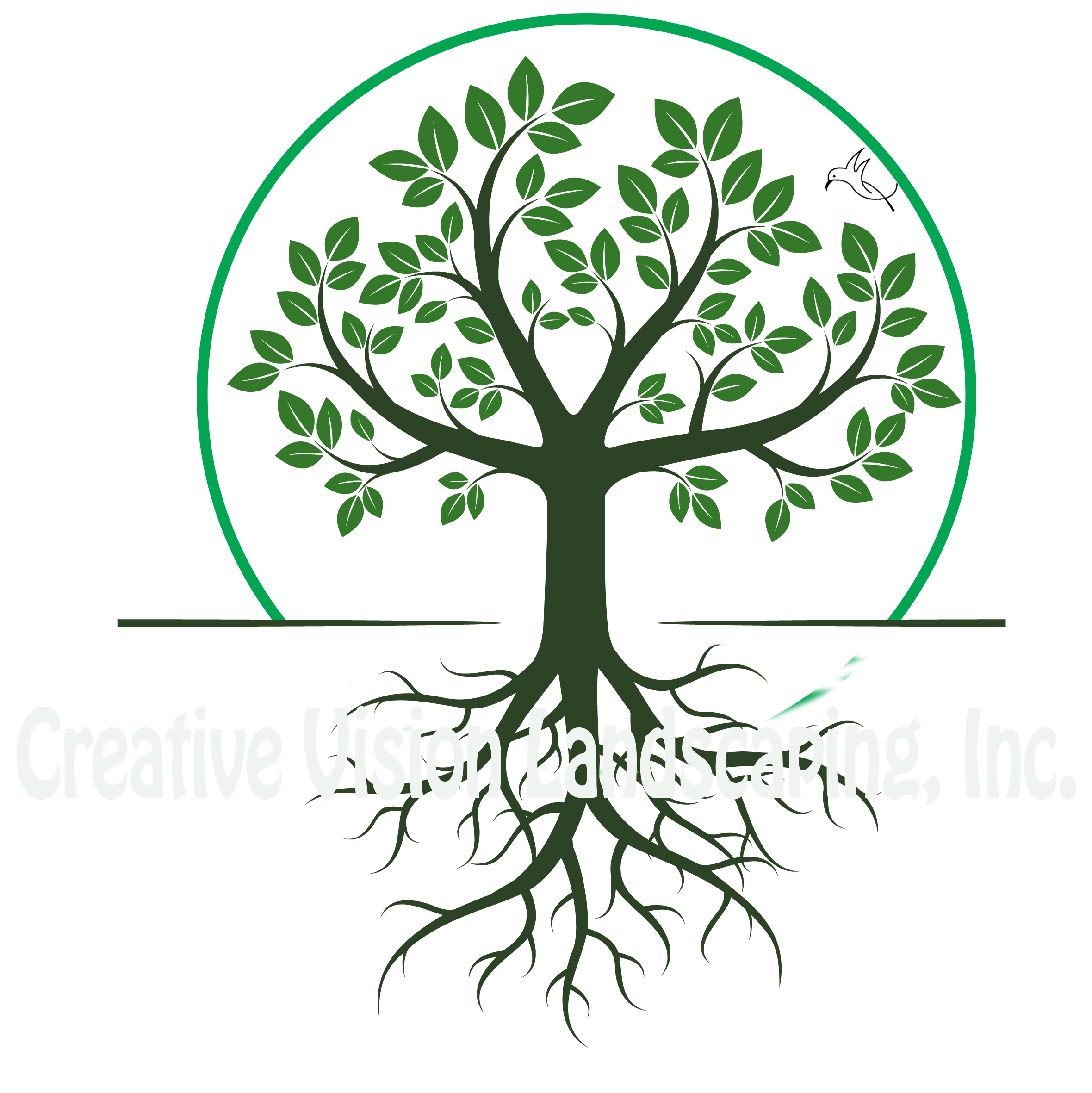graphic library Roots clipart landscaping. Home creative vision landscape.