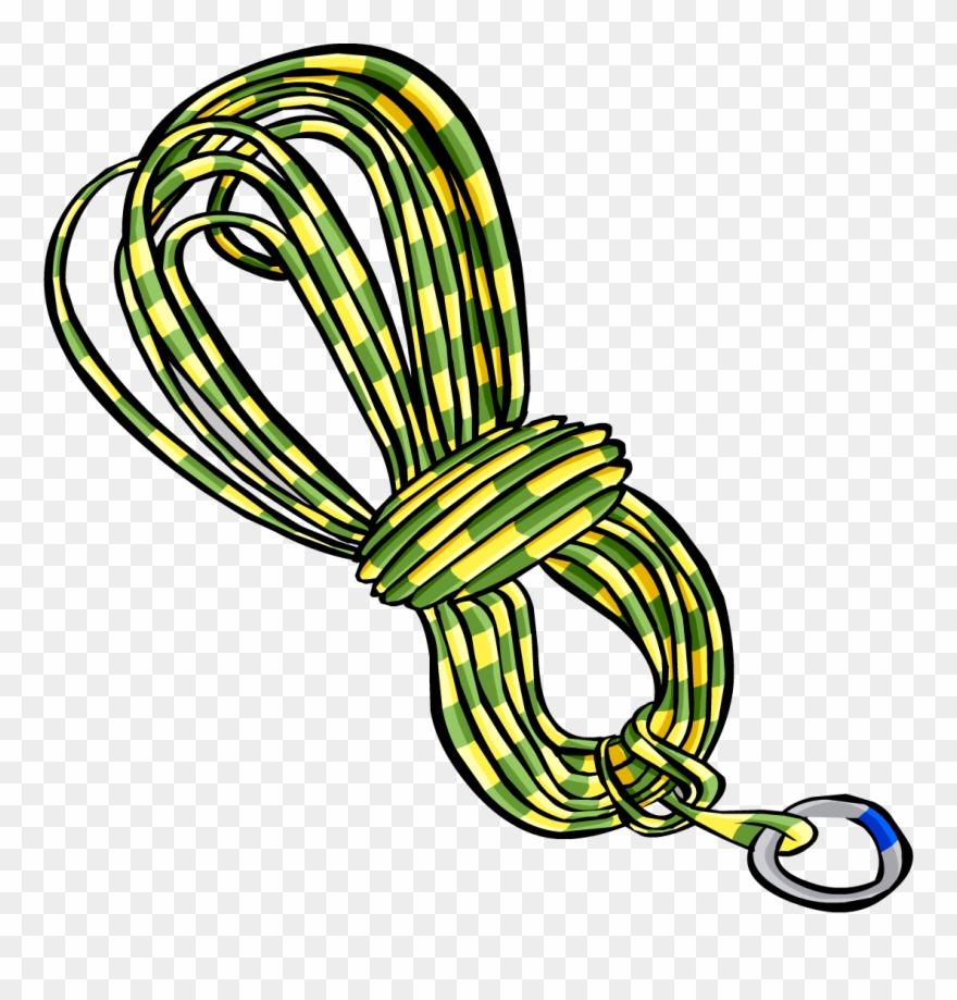 clip art library Lasso navy rock climbing. Rope clipart.