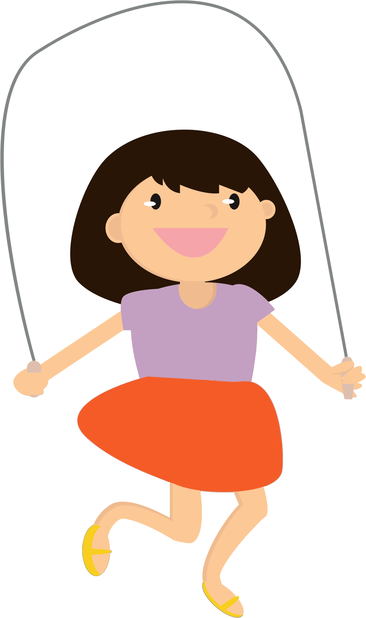 image royalty free download Girl Jumping Rope Icons PNG