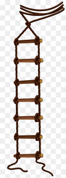 vector Rope ladder clipart. Portal .
