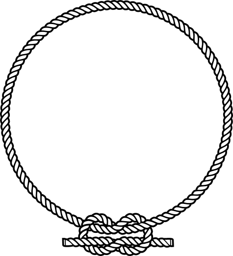 clip art download Drawing rope outline. Free vector clipart inkscape
