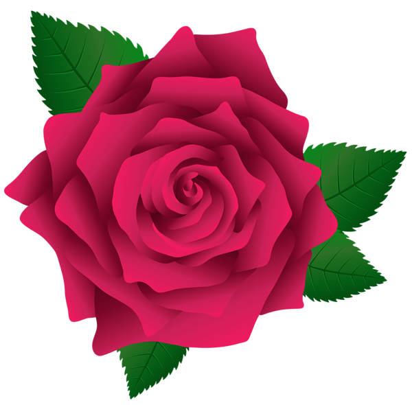 picture black and white library Rose flower clipart. Pink png image clip