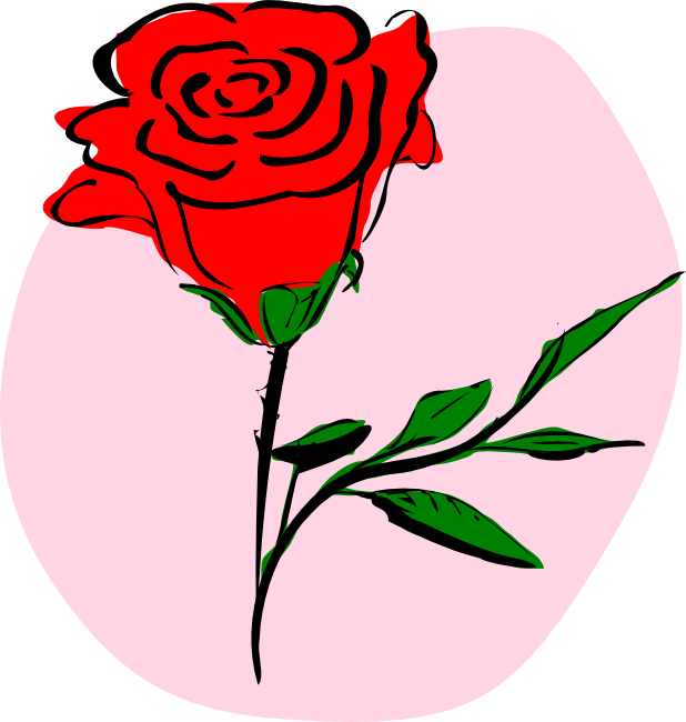freeuse Free rose animations and. Roses clipart.