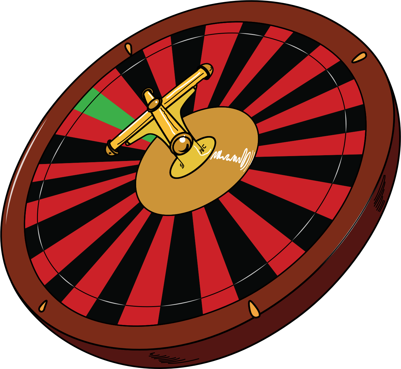 picture download Big image png. Roulette wheel clipart.