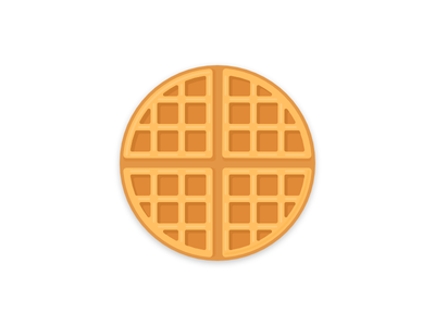 svg free download Icon free icons library. Round waffle clipart