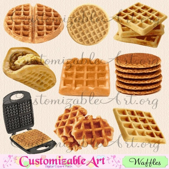 clip art download Round waffle clipart. Digital clip art dutch