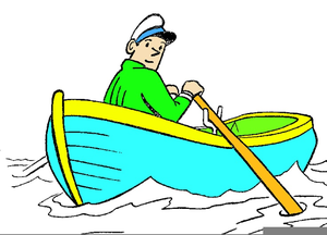clip transparent library Row clipart. Your boat free images