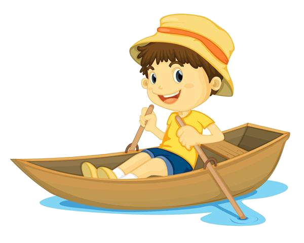 image free download Your boat rowing childrens. Row clipart
