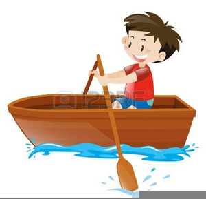image transparent library Cartoon boat free images. Row clipart