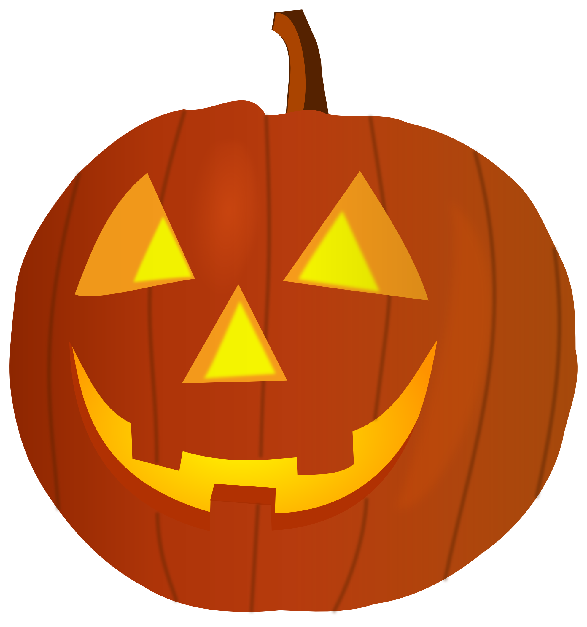png black and white download All saints pumpkin carving clipart