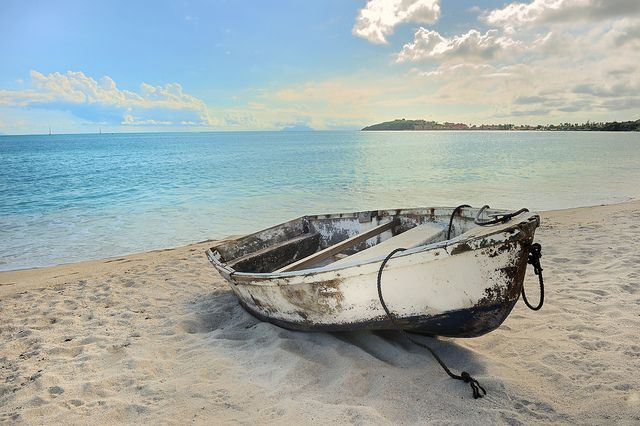 svg free download old row boat on the beach