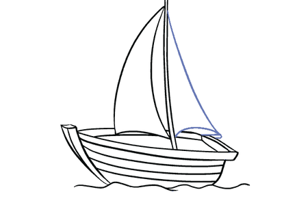 clipart free library houseboat pencil drawing