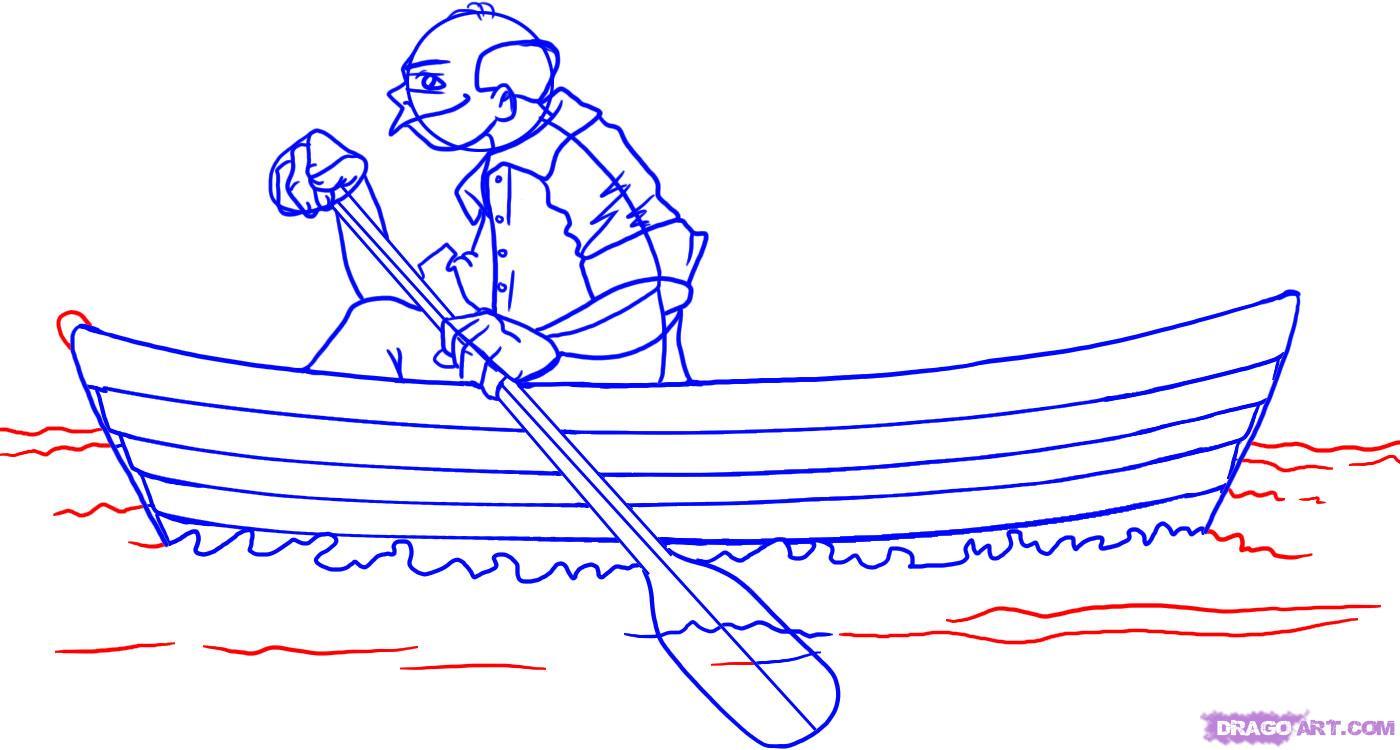 jpg stock Row Boat Drawing at PaintingValley