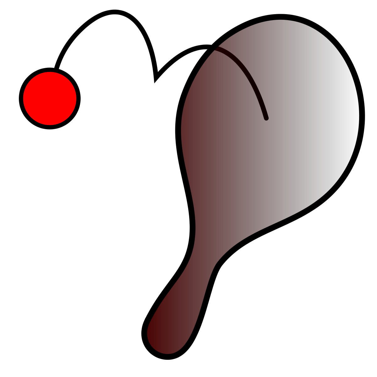 clipart royalty free Paddle ball