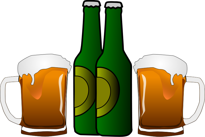 svg royalty free stock bucket of beer clipart #58004138