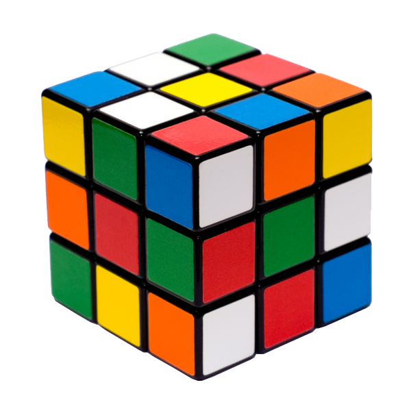 clip art royalty free download Rubik Cube transparent image