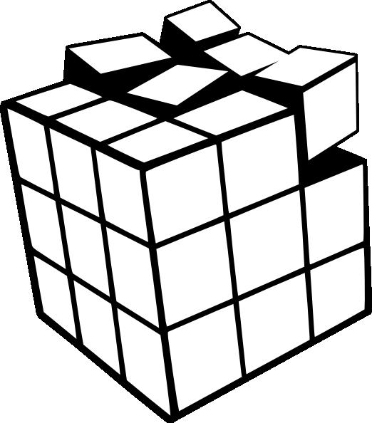 clip art library stock Rubiks Cube