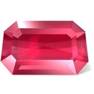 vector royalty free ruby vector rectangular #102456527