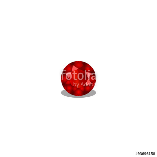 svg free stock ruby vector red gem #139881128