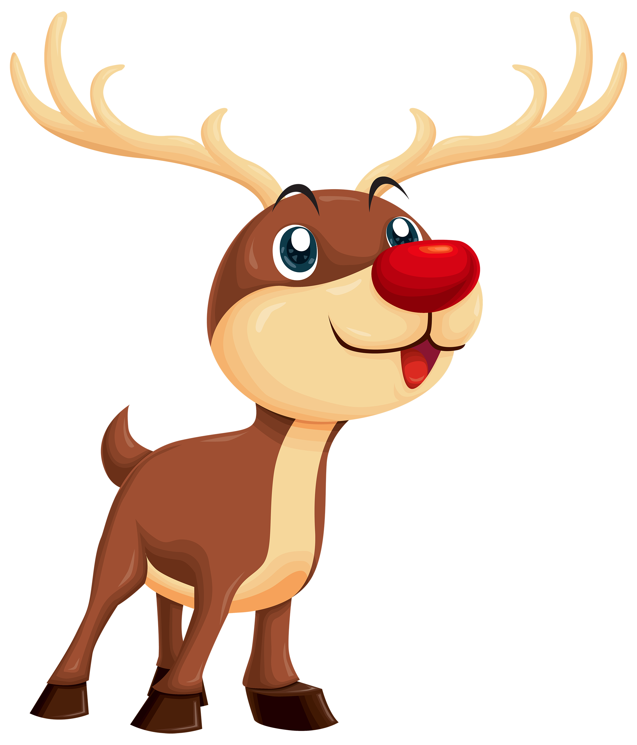 image black and white download Rudolph clipart. Png best web.