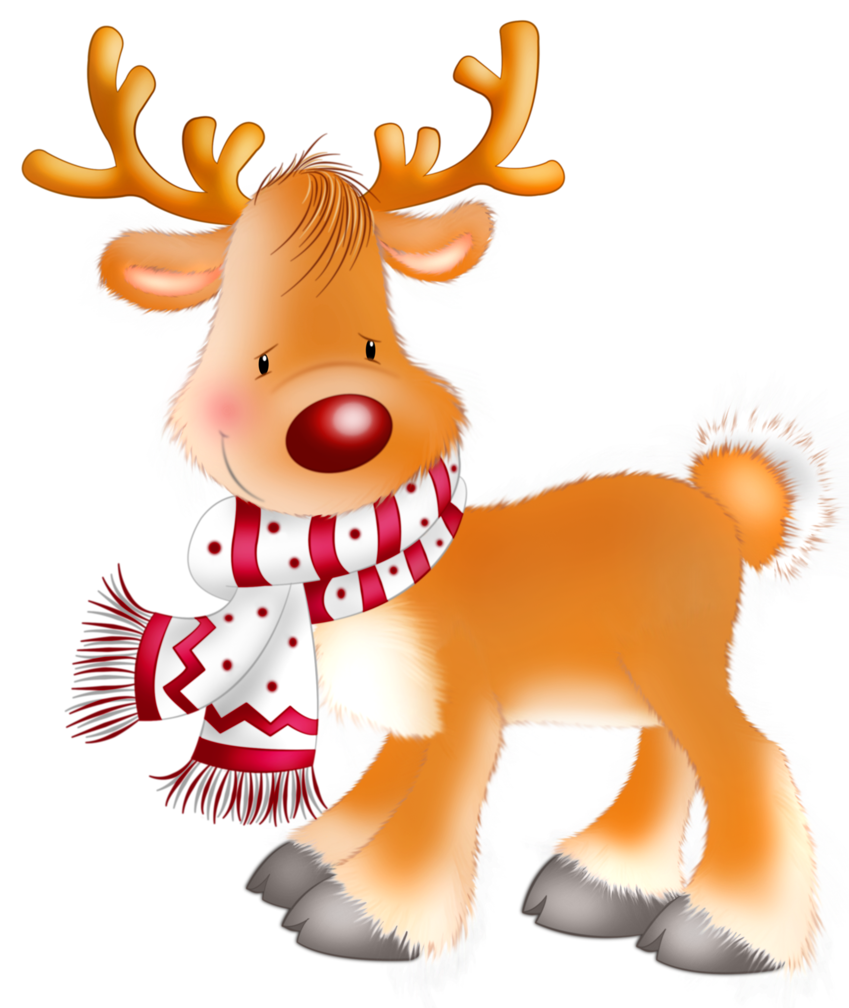 svg royalty free library . Rudolph clipart.