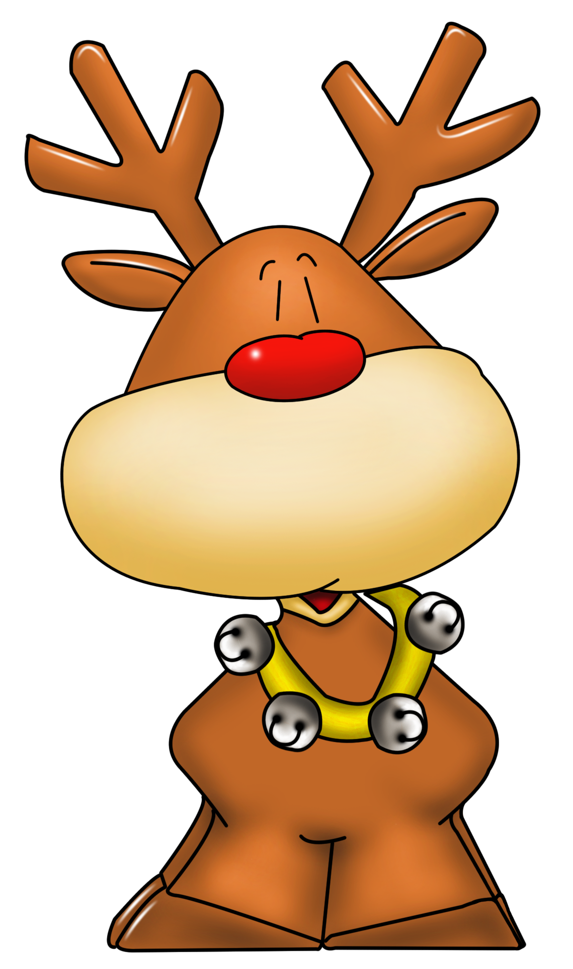 clipart Rudolph clipart. Png picture christmas crafts.