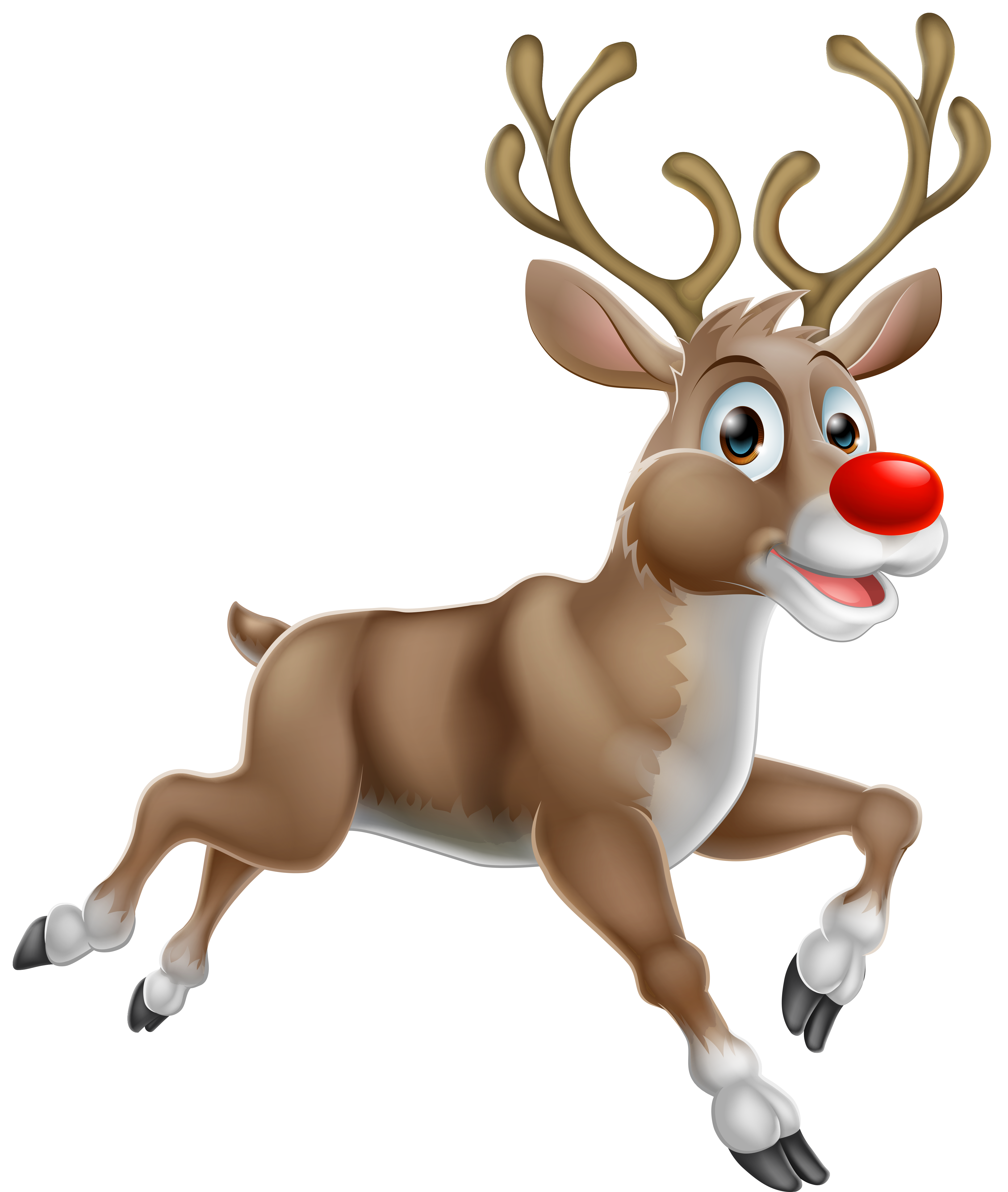 vector Transparent christmas png gallery. Rudolph clipart.