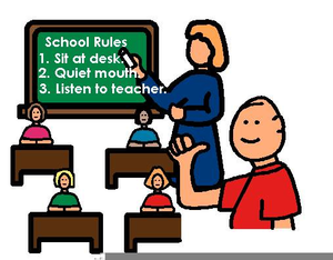 graphic library School free images at. Rules clipart.