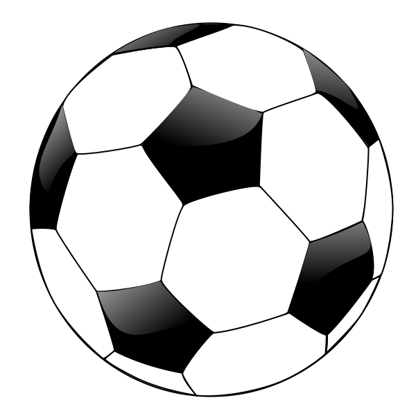 clip freeuse library sports balls clipart black and white
