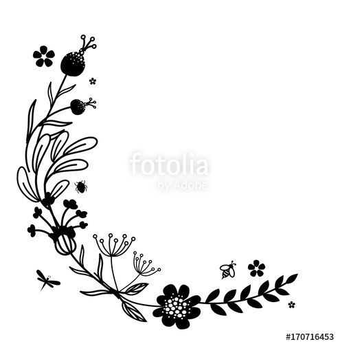 svg library stock Frame corner decoration stock. Rustic vector